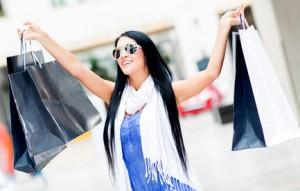 Shopping summer sales