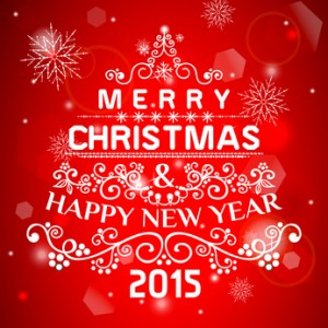 Christmas card ornament decoration background. Vector illustration Eps 10. Happy new year message, Happy holidays wish.