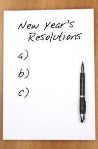 Empty new year resolutions